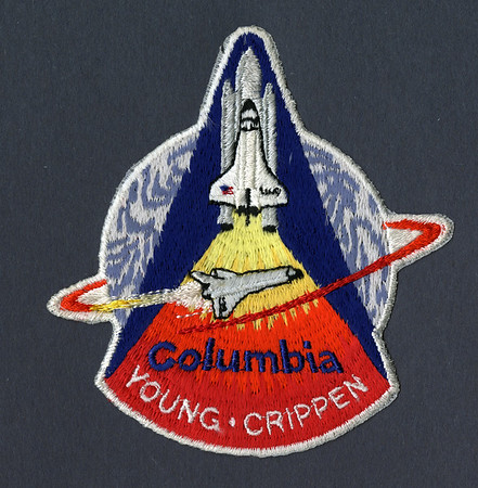 VINTAGE ORIGINAL LION BROS STS-5 Columbia NASA SPACE SHUTTLE Mission PATCH