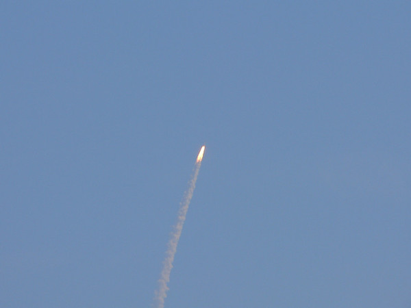 Space Shuttle Launches taken from my front lawn